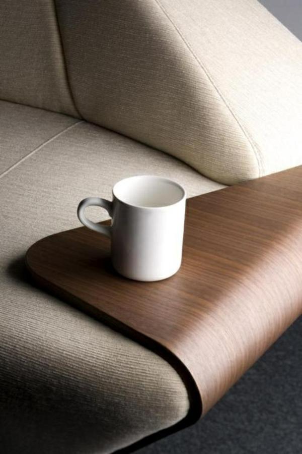 cleveres Produktdesign design ideen beistelltisch sofa