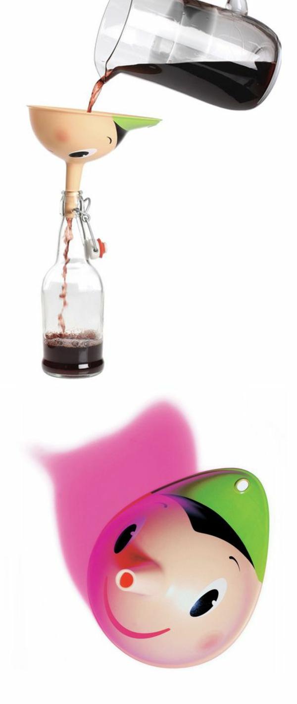 cleveres Produktdesign design ideen pinocchio trichter