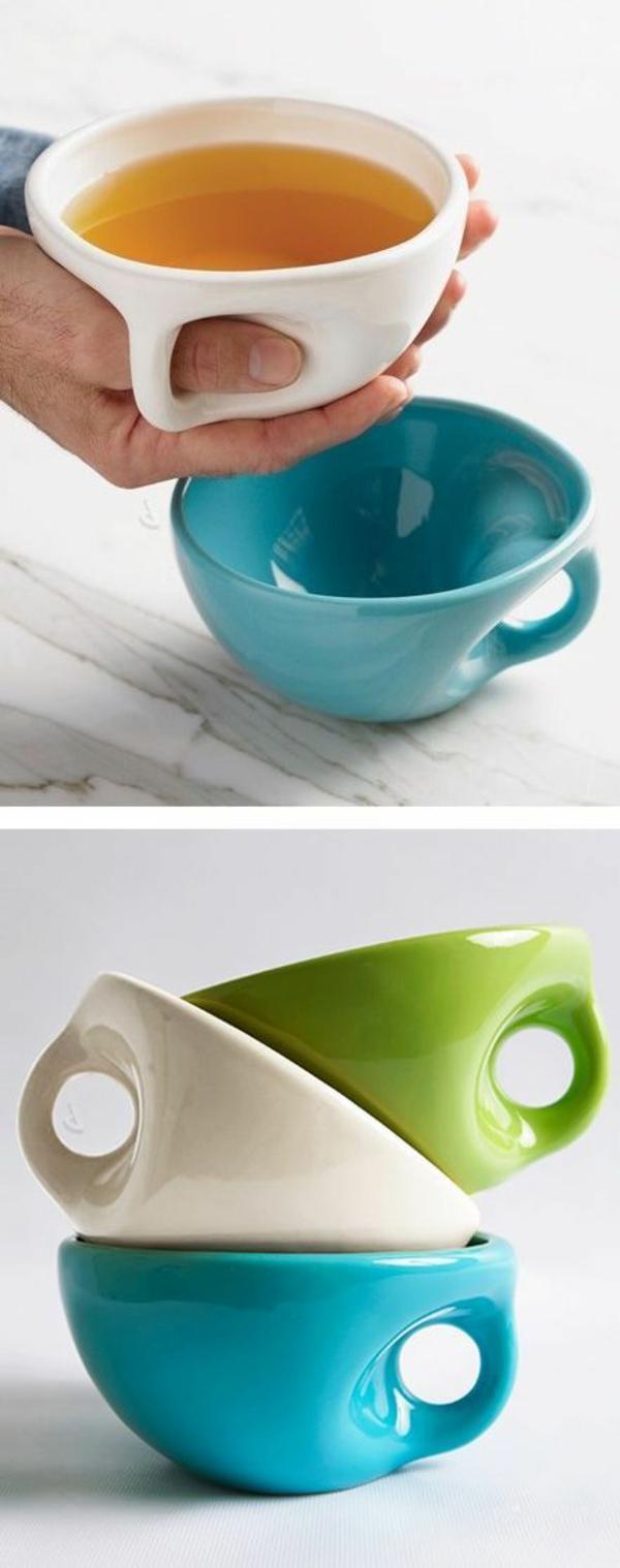 cleveres Produktdesign design ideen porzellan tassen