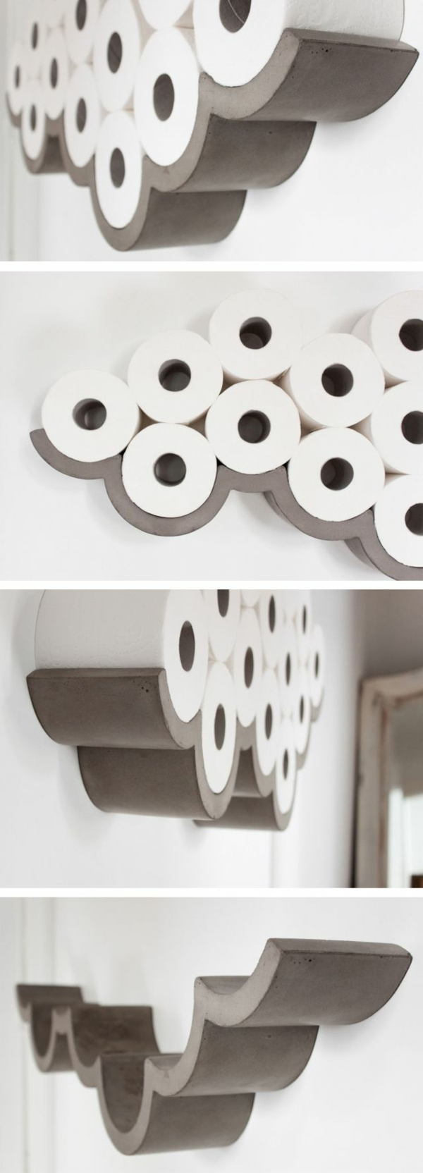 cleveres Produkt design design ideen toilettenpapier halter