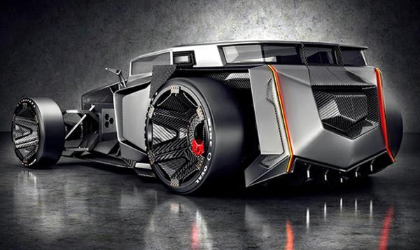 concept cars autowelt Lamborghini Rat Rod automodelle