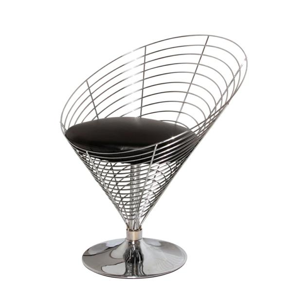 cone chair werner panton stilvolles design metall