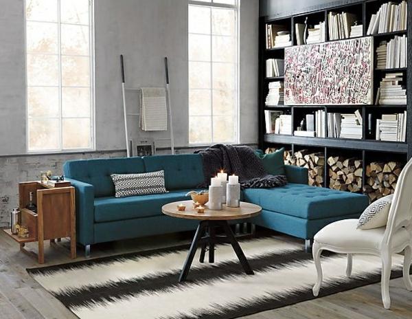 wohnzimmer retro stil:wohnzimmer couchtisch vintage stil elegantes design