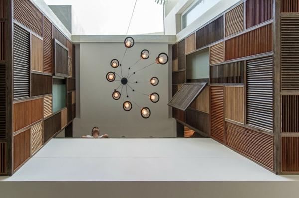 deckengestaltung moderner wohnung AHL architects