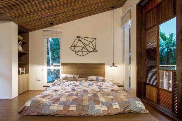 deckengestaltung schöne wandgestaltung schlafzimmer AHL architacts