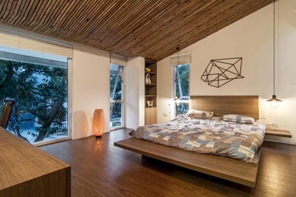 deckengestaltung schlafzimmer AHL architects wohnung