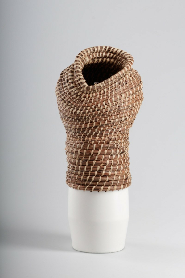 deko vase eneida tavares design keramik korb