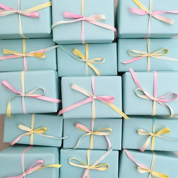 dekoideen ostern geschenk verpackung pastelnuancen
