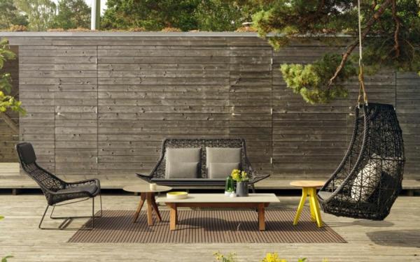 designer gartenmöbel couch sessel terrasse