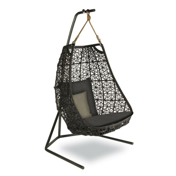 designer gartenmöbel egg swing kettal maia