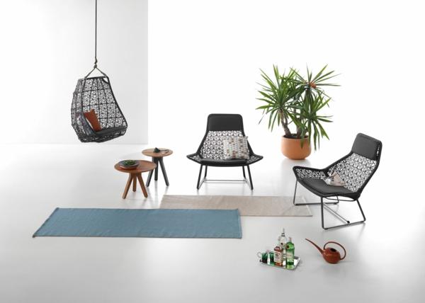 designer gartenmöbel hängesessel sessel wohnzimmer