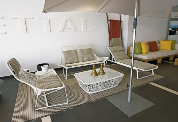 designer gartenmöbel sessel couchtisch sofa kettal maia