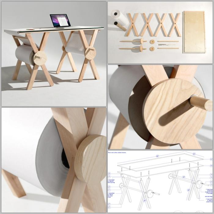designer schreibtische analog memory desk büromöbel
