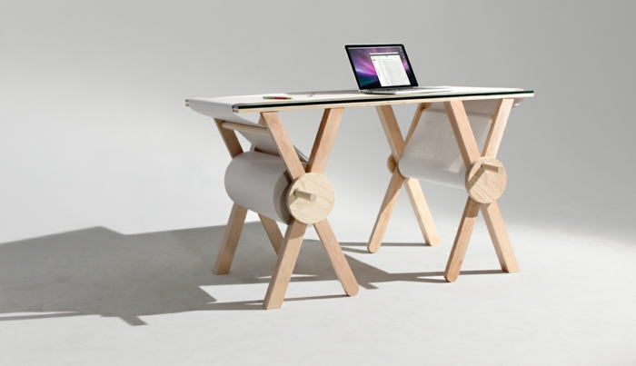 designer schreibtische analog memory desk
