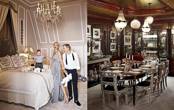 designermode tommy hilfiger luxushaus esszimmer schlafzimmer
