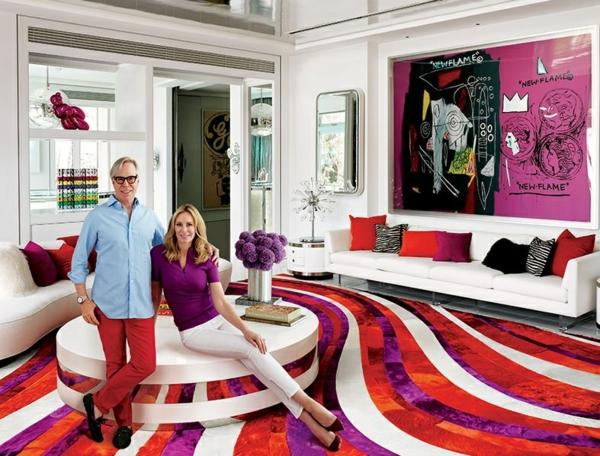 designermode tommy hilfiger luxushaus teppichboden verlegen