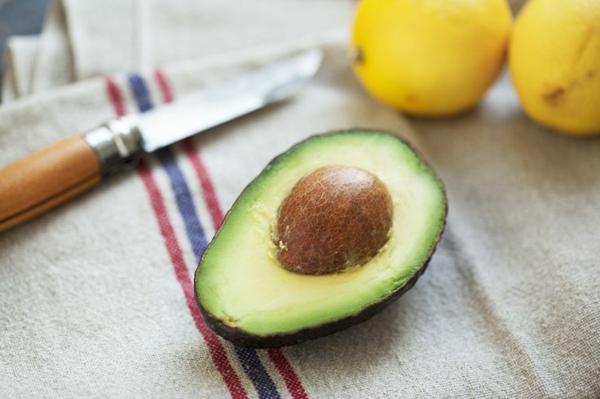 diätplan zum abnehmen gesund essen avokado