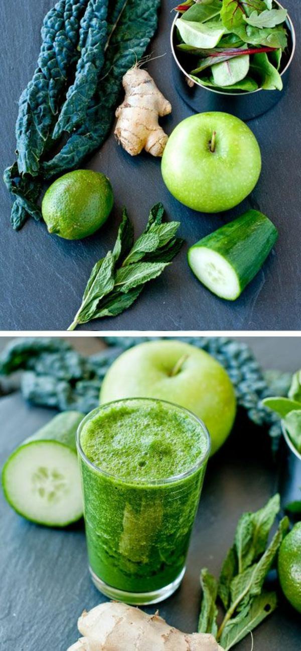 diätplan zum abnehmen gesund essen smooties obst und gemüse