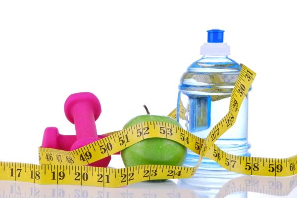 diätplan zum abnehmen trainieren wasser trinken