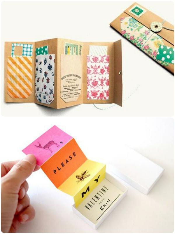 leporello basteln einfache bastelideen mit papier. Black Bedroom Furniture Sets. Home Design Ideas