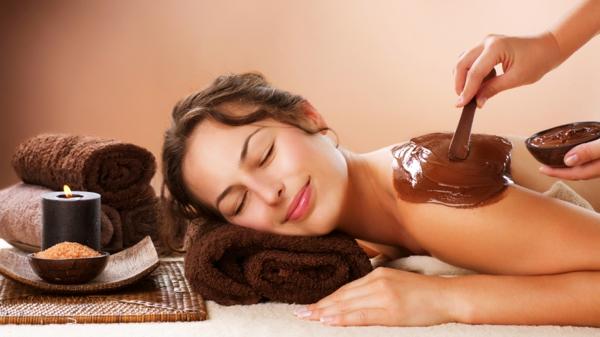 duft und schönheit aroma massage schokolade