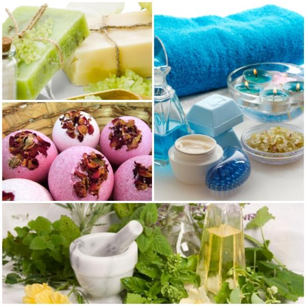 duft und schönheit bilder collage