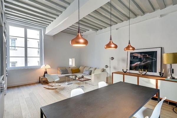 Moderne Einrichtungstipps Kleines Stilvolles Apartment In Paris