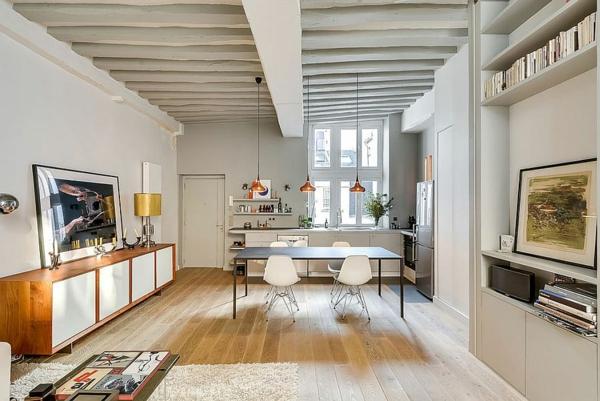 Inspirierende Einrichtungstipps U2013 Kleines Apartment In Paris Stilvoll  Eingerichtet   Einrichtungsideen ...