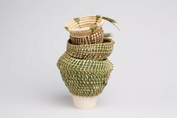 eneida tavares pflanztöpfe dekovasen keramik korb