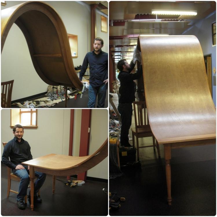 esszimmermöbel esszimmertisch Michael Beitz designer esstische holz