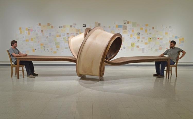 esszimmermöbel modern esszimmertisch holz Michael Beitz designer esstische