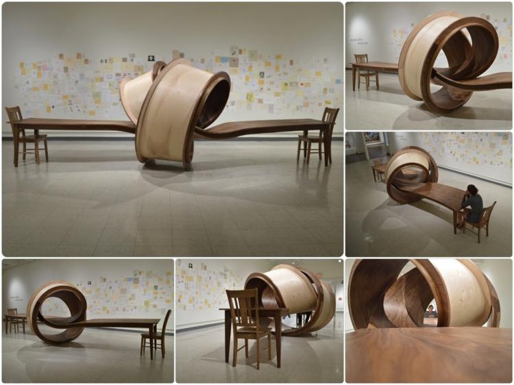 esszimmertisch holz Michael Beitz designer esstische