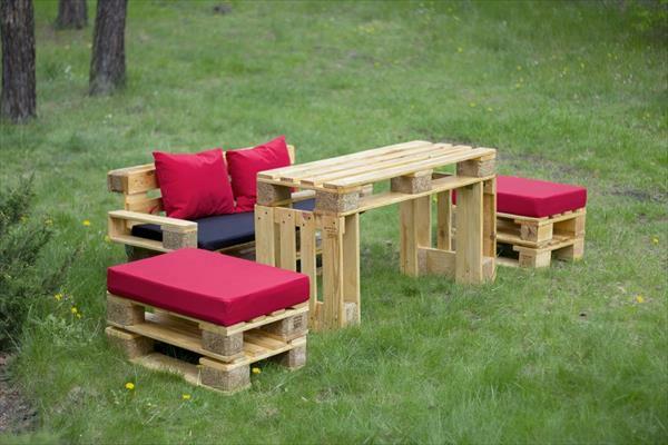 europalette diy gartenmöbel sofa hocker tisch