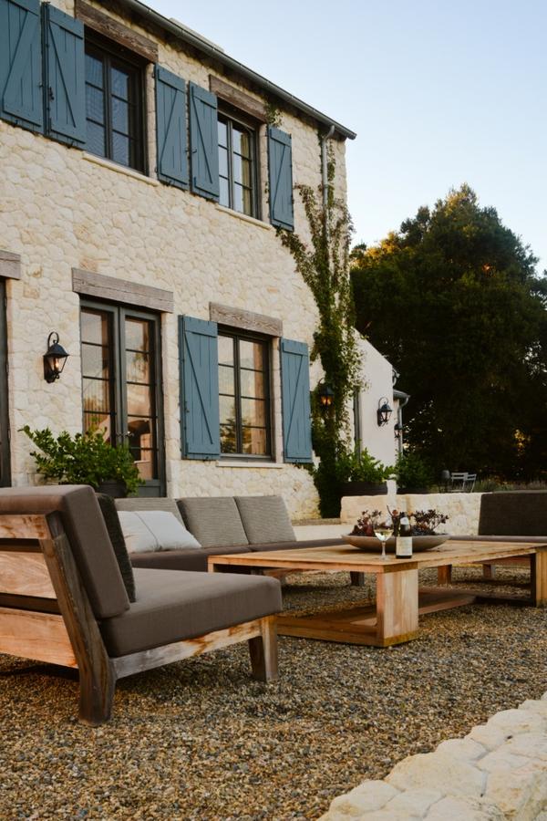 holzpaletten diy gartentisch sessel sofa landhaus