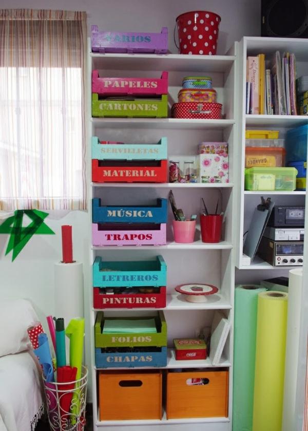 europalette möbel aufbewahrungsboxen unterschiedliche farben
