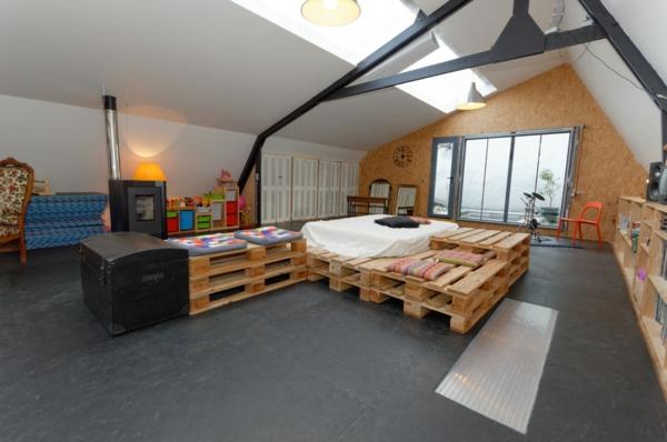 holzpalette möbel wohnzimmer diy