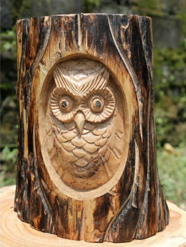 Holzfiguren Werden Ihrem Garten Einen Individuellen Look Verleihen