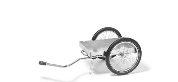 fahrradanhänger fahrrad aluminium gestell