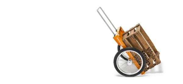 fahrradanhänger fahrrad aluminium halter gelb