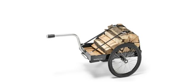 fahrrad anhänger fahrrad brennholz horizontal