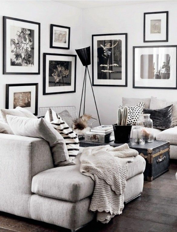 25+ best ideas about graue wohnzimmer on pinterest | grauer couch ...