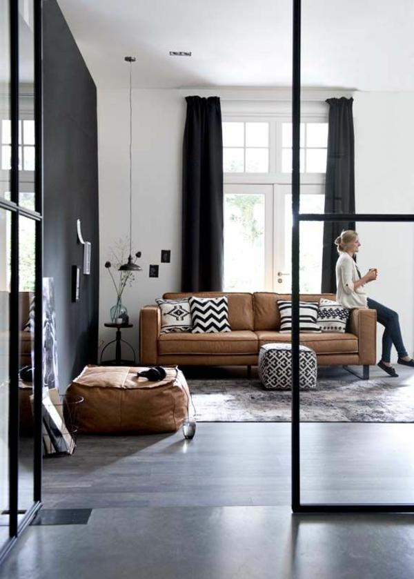 farbgestaltung im wohnzimmer wandfarben ausw228hlen und