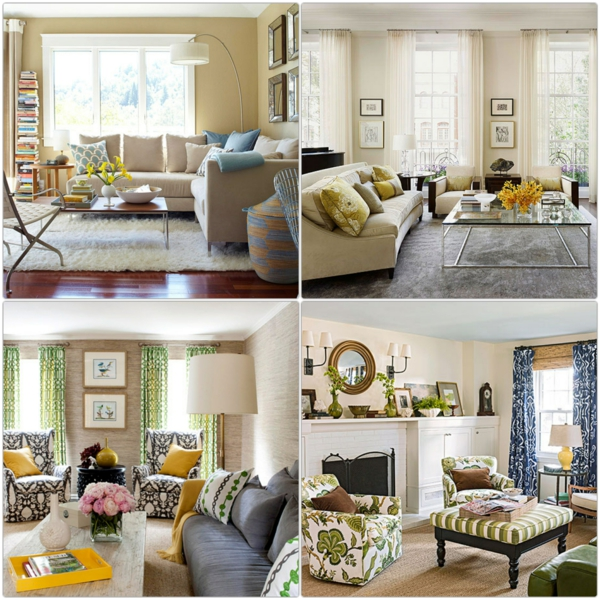 Farbgestaltung Wohnzimmer Wandfarben Gestaltung Beige Mobel