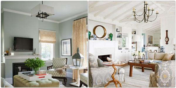 farbgestaltung im wohnzimmer: wandfarben auswählen und gekonnt mischen - Wohnzimmer Gestalten Farben Ideen