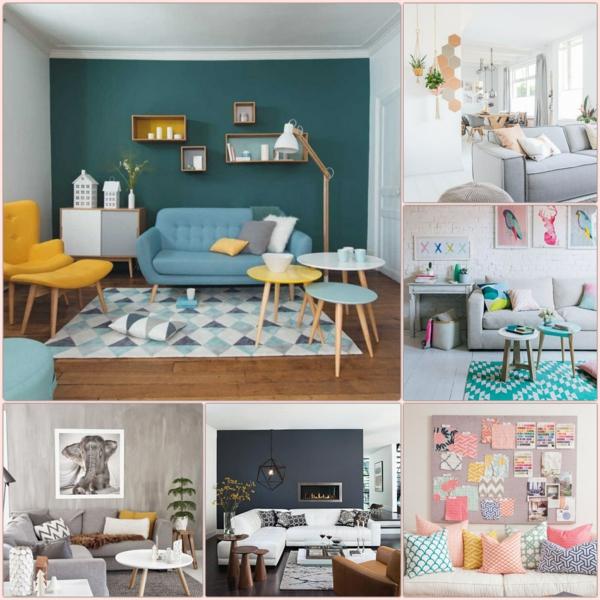Farbgestaltung Wohnzimmer Wandfarben Gestaltung Wandfarben Ideen