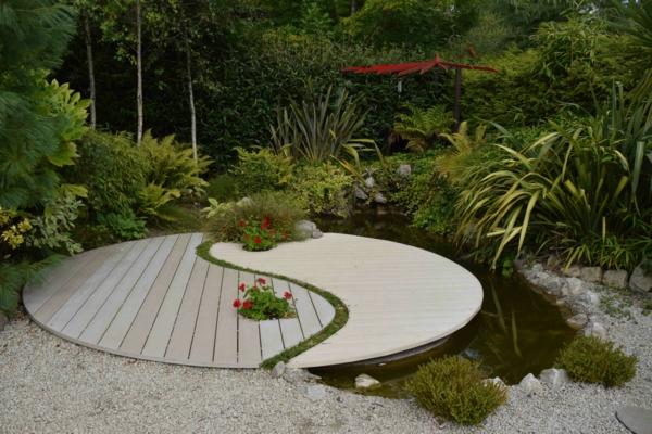 feng shui garten - kreieren sie ihren eingenen platz der stille, Garten ideen
