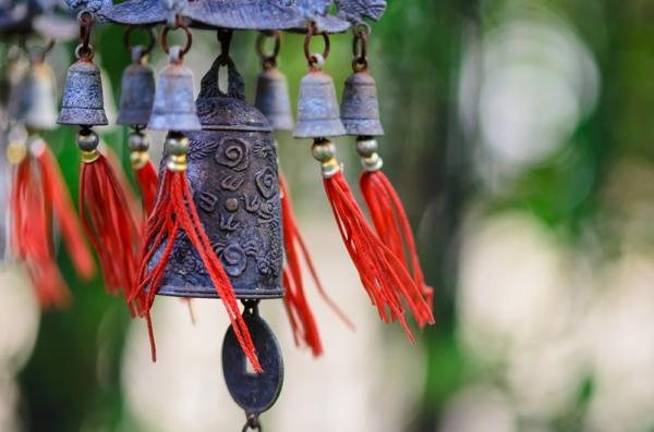 feng shui garten windspiel glocken chinesisch