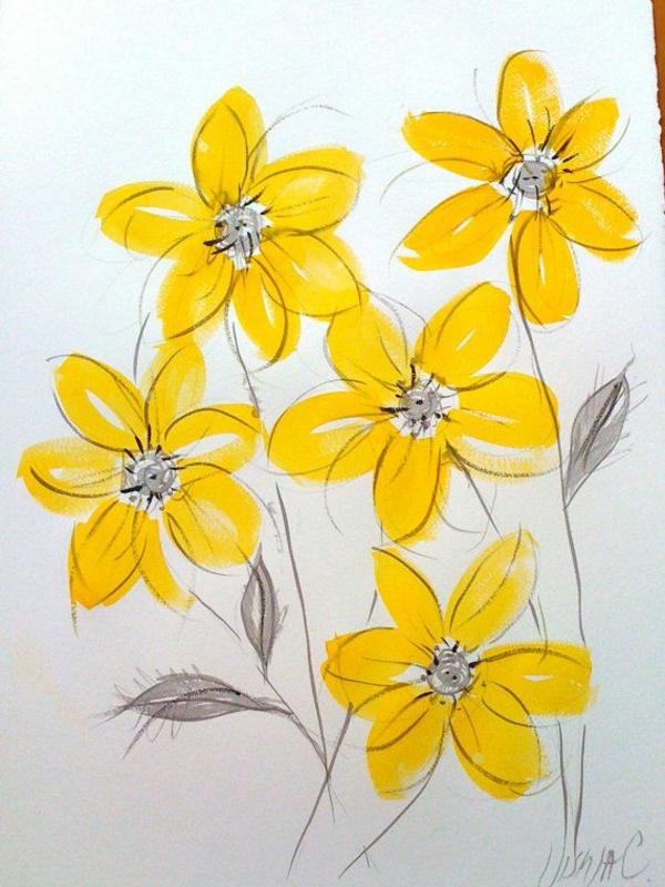 Ideen Für Wände frühlingsblumen bilder inspirieren für ein farbenfröhliches design