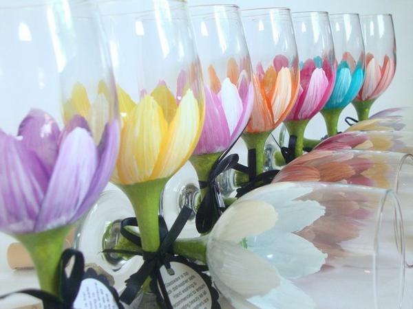 Tischdeko frühlingsblumen im glas  Tischdeko Frühlingsblumen Im Glas ~ Raum- und Möbeldesign-Inspiration