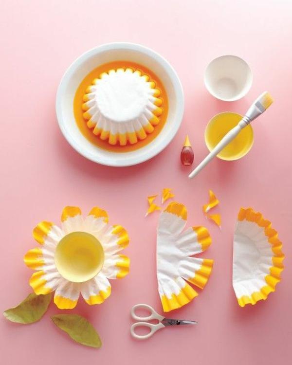 frühlingsblumen diy ideen schöne dekoideen